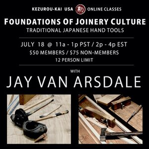 Foundations of Joinery Culture July 18, 2020