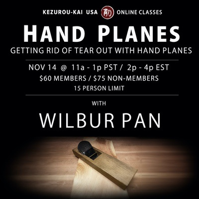 Getting Rid Of Tearout With Hand Planes - Nov 14, 2020