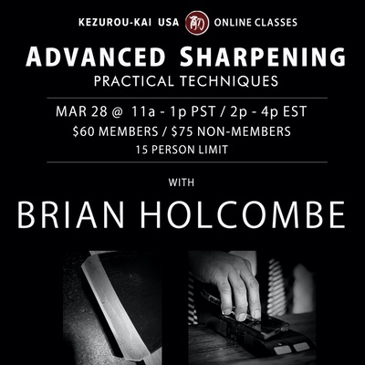 Advanced Sharpening - March 28, 2021