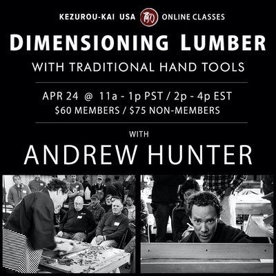 Dimensioning Lumber - Andrew Huntetr