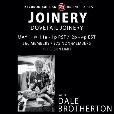 Basic Construction Joinery Techniques - Dale Brotherton - May 1, 2021
