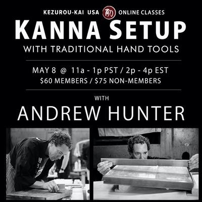 Kanna Setup - Andrew Hunter - May 8, 2021