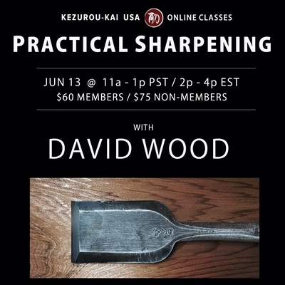 Practical Sharpening - David Wood - June 13, 2021