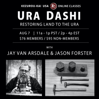 Ura Dashi - Jay van Arsdale & Jason Forster - August 7