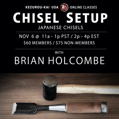 Chisel Setup Brian Holcombe Nov 6, 2021