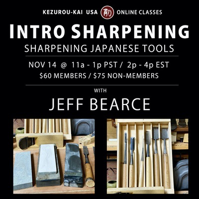Intro to Sharpening Jeff Bearce