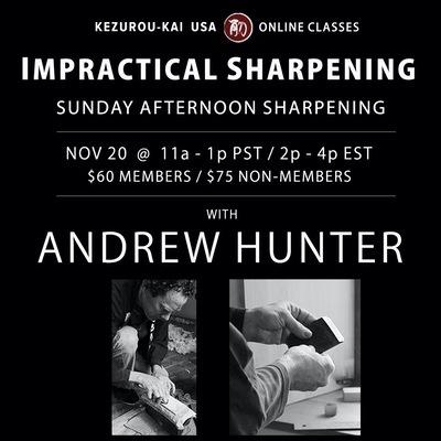 Impractical Sharpening Andrew Hunter