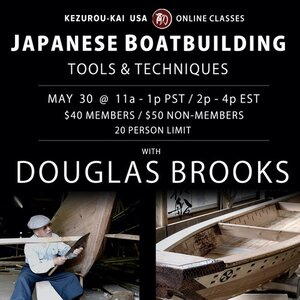 Japanese Boat Building - May 30, 2020